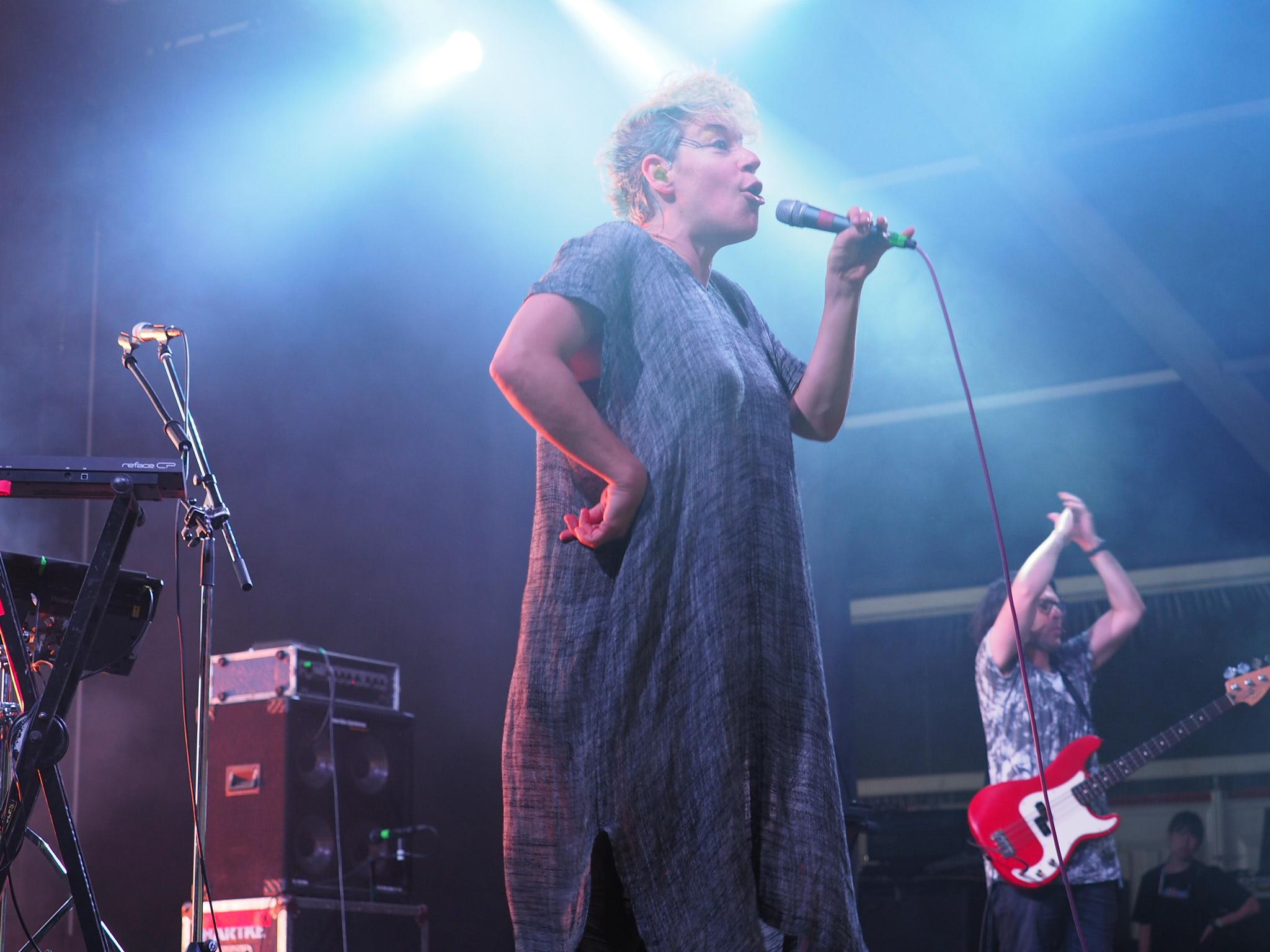 Tune-Yards at Fuji Rock Festival
