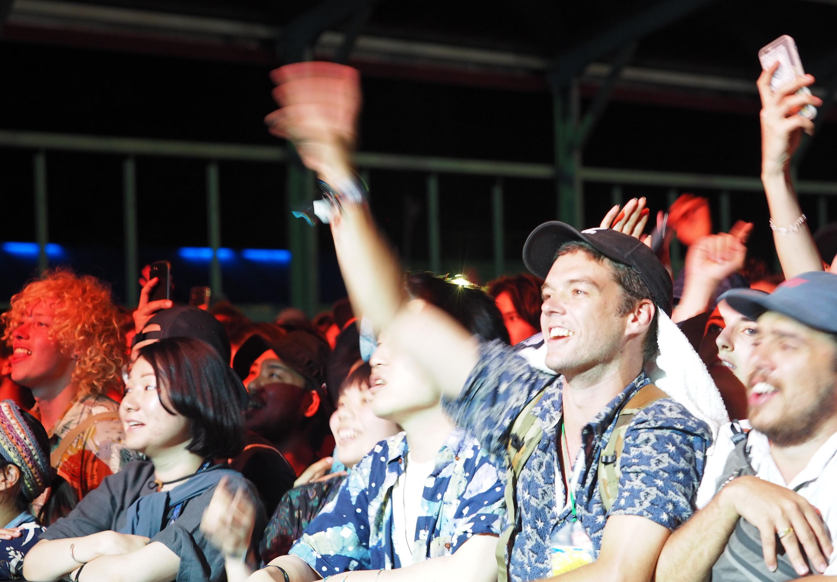 Fuji Rock crowd